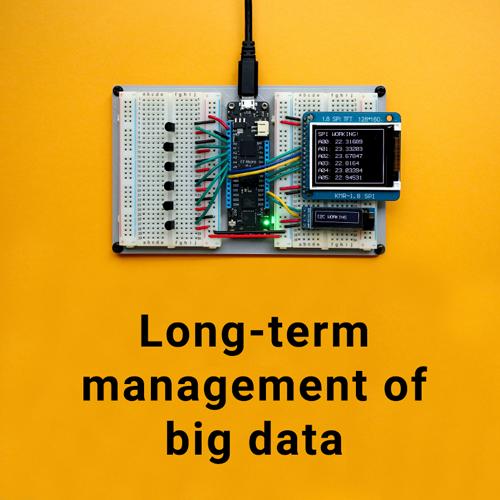 Long-term management of big data