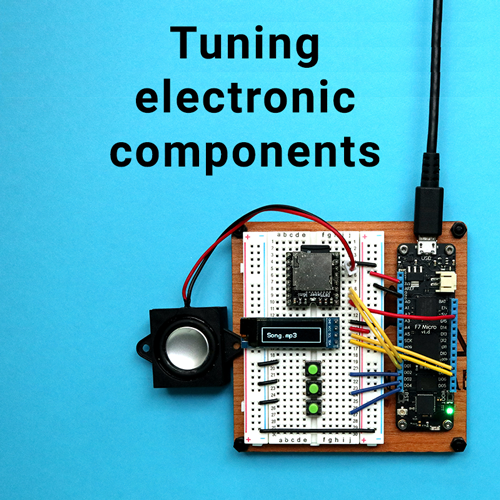 tuning electronic components